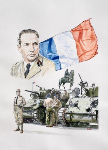 17. Le Général Diego Brosset libère la ville de Lyon.