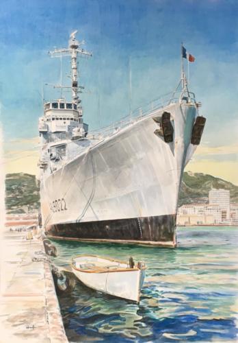14. L'Orage, dernier jour à la mer, Toulon.