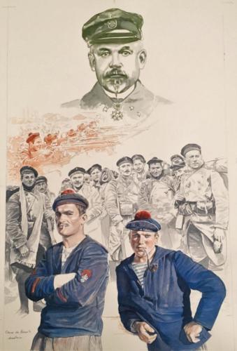 01. La brigade Ronarc'h à Dixmude, 1914.