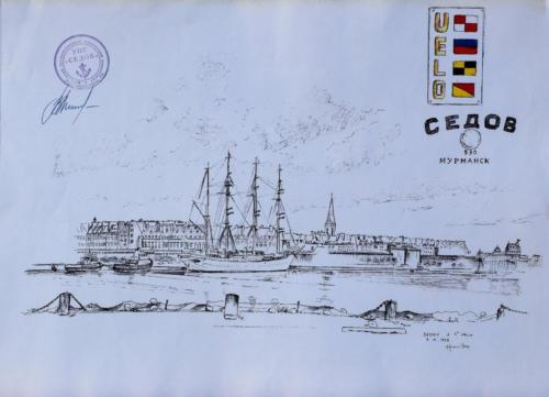 07. Sedov à St Malo.